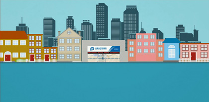 太平洋保险课件动画素材