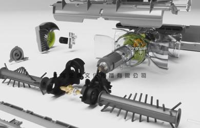 工业产品三维动画